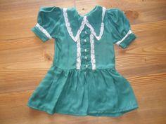 Puppenkleid-gruen-antik-vintage