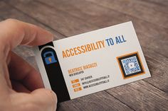 Business card Accessibility to All