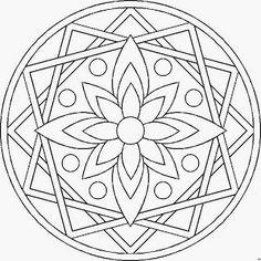 Mandalas Para Pintar: mandalas para imprimir                              …