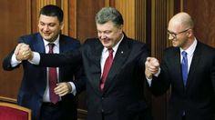 Блог-дайджест Vyacheslavа Mazurenko : «ПС»: в отличие от Януковича, Порошенко даже в аэр...