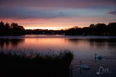 Sunset on the Serpentine