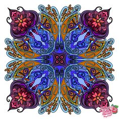 My Coloring Book Coloring Apps, Coloring Book Pages, Adult Coloring, Color By Numbers, Colouring Techniques, Color Studies, Mandala Coloring, Happy Colors, Mandala Art
