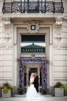 Lafayette Hotel Urban Buffalo Wedding Photography