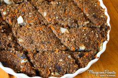 Quibe de Berinjela, perfeita para quem quer variar o prato durante a semana. Clique na imagem para ver a receita no blog Manga com Pimenta.