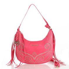 Michael Kors Rhea Stud Metallic Small Pink Crossbody Bags, Your First Choice