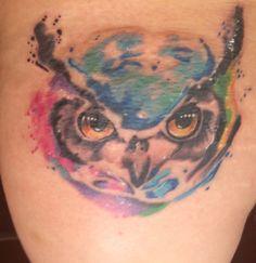my new tattoo. New Tattoos, Watercolor Tattoo, Temp Tattoo