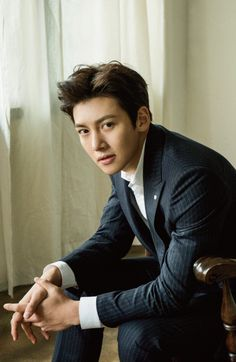 """Ji Chang Wook, who is now everyone's favorite action star even if he doesn't want that (LOL), appears in the January 2017 issue of a Japanese magazine called """"Hanryu Pia"""" & Ji Chang Wook Healer, Ji Chang Wook Smile, Jung So Min, Korean Star, Korean Men, Park Hyun Sik, Ji Chang Wook Photoshoot, Saranghae, Handsome Korean Actors"""