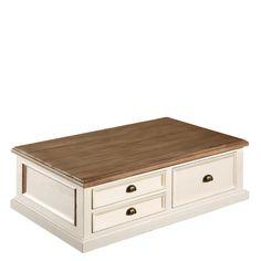 The Carisbrooke Box Coffee Table - Reclaimed Wood Coffee Table
