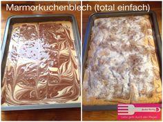Marmorkuchen Blech