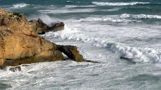 Stormy seas at Cape Northumberland in South Australia. (Image: ABC/Stuart Stansfield)