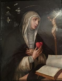 St. Catherine of Siena. Peter Seila's house, Toulouse, France