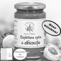 Wunderbare süße Aprikosenkonfitüre, quasi aus dem päpstlichen Garten. Hier klicken: http://blogde.rohinie.com/2013/01/honig/ #Vatikan #Konfituere #Marmelade #Aprikose
