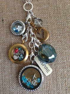 I love how the mixed metals look on this Origami Owl® locket.  www.adriana.origamiowl.com