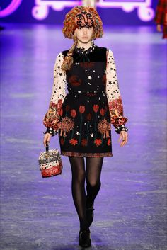 Anna Sui New York - Collections Fall Winter 2016-17 - Shows - Vogue.it