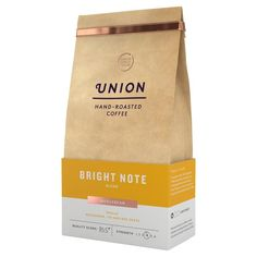 Union Coffee Light Roast Coffee Beans - Bright Note 200g from Ocado