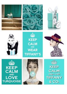Keep Calm Tiffany Square Boxes by SandysPaperShack on Etsy