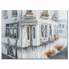 Πίνακας Σπίτι γωνία Painting, Art, Art Background, Painting Art, Paintings, Kunst, Drawings, Art Education