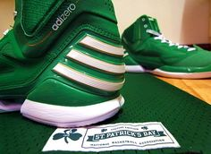 Representing Three Stripes and my people: the adiZero Rose 2.5 'St. Patrick's Day.'