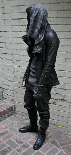 men's black street fashion - Google 검색