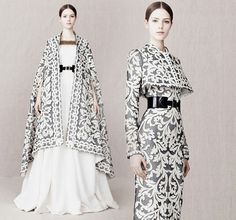Structured jackets pattern royal feel romance