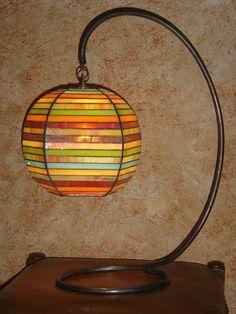 refletsdelumieres.fr - luminaires à poser(2) - vitraux, luminaires et miroirs à Ouistreham.