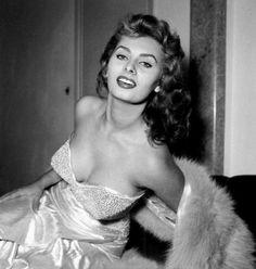 radiant Sophia Loren