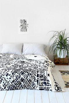La sencillez de un dormitorio   Estilo Escandinavo