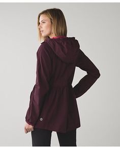lululemon rain-for-daze-jacket Travel Raincoat, Jackets, Jacket, Cropped Jackets