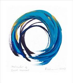 Enso, Miracles of Each Moment, Kazuaki Tanahashi   - symbol for Zen - Meaning of ensō: http://www.dailycupofyoga.com/2011/11/17/enso-the-art-of-the-zen-buddhist-circle/