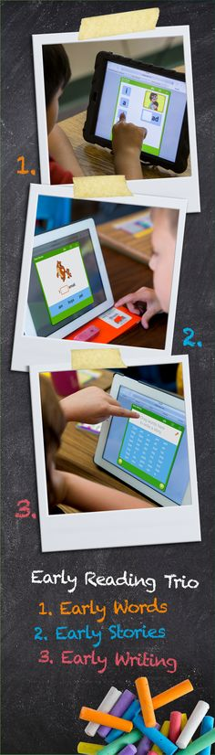 MobyMax Early Reading Trio Curriculum for K-8 Schools - Free Touch Curriculum™ Builds & Reinforces Early Reading Skills