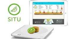 SITU Is The Food Scale That Connects To Your iPad ... see more at InventorSpot.com