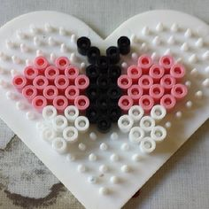 Butterfly hama beads