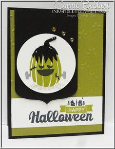 Fall Fest Frankenstein + Halloween Street (greeting)