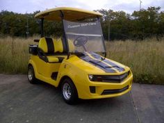 LOVE this Golfcart!