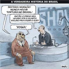 Nunca houve e (não há) tortura no Brasil ?