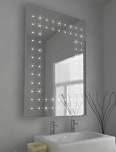 Zenon Fluorescent Illuminated Mirror With Sensor Demister Pad And Shaver Socket Size H 600 X W D 45 Mm Mirrors Pinterest Bathroom