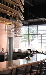 Corkbar is a great meeting spot for you and your friends: classy, minimalist decor, conveniently nearby L.A. LIVE