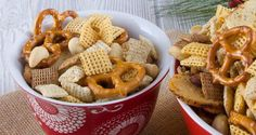 The Original Chex Party Mix - Still great after all these years! Chex™ Party Mix has been a party favorite for over 50 years. Look for Mixed Nuts, Pretzels & Spices in WinCo Bulk Foods! #WinCoPinToWin #ChexMix