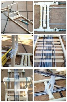 Free eBook: Make a Loom and Weave a Band in 2 Days! DIY inkle loom and warping instructions, plus 6 projects! Inkle Weaving, Inkle Loom, Card Weaving, Basket Weaving, Tablet Weaving Patterns, Weaving Textiles, Loom Patterns, Tapestry Weaving, Lucet