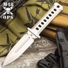 M48, Kydex Sheath, Military Guns, Metal Belt, Cold Steel, Fixed Blade Knife, Tactical Knives, Cnc Machine, Satin Finish