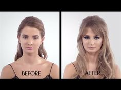 The Bardot Make-up Tutorial - featuring Millie Mackintosh - 60s cat eye - Charlotte Tilbury - YouTube