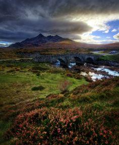 Sligachan, Isle of Skye, Hebrides, Scotland, UK by Ian Hex of LightSweep