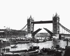 Opening day of Tower Bridge, June 30, 1894.  |  © National Archives