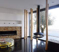 Discover All The Information About The Product Bioethanol Fireplace /  Contemporary / Open Hearth / Central PEROLA   GlammFire And Find Where You  Can Buy It.