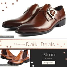 Today Only! 15% OFF {{Shoes - Trendy Buckle Brown}} . Follow us on Pinterest to be the first to see our exciting Daily Deals. Today's Product: Shoes - Trendy Buckle Brown Buy now: https://small.bz/AAaUgc9 #musthave #loveit #instacool #shop #shopping #onlineshopping #instashop #instagood #instafollow #photooftheday #picoftheday #love #OTstores #smallbiz #sale #dailydeal #dealoftheday #todayonly #instadaily
