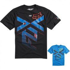 Fox Racing Divizion Youth Boys Short Sleeve T Shirts Casual Tees