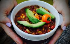 Vegetarian Chili / The Plant-Powered Blog - Sharon Palmer, RD
