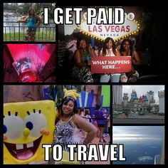 Houston Dallas Atlanta New York Las Vegas Beaumont Lake Charles Galveston New Orleans California and louisiana I am looking for you. If you love to travel why not get paid for it. If you are a single mom lets talk about getting another source of income in your home. Teacher Doctors Real Estate agents we are looking for you too. Inbox me NOW...Join the baddest project on the PlanNet. Join me on my launch call tonight and hear how I get paid to travel ask me how you can get started today…