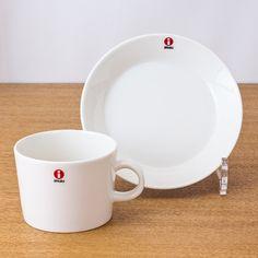 iittala/イッタラ/Teema/ティーマ/ティーカップ&ソーサー/ホワイト