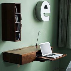 The Wall Mounted Desk, 3 Ways: Splurge, Save, and Make